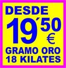 COMPRO ORO - SE COMPRA ORO - CASA DE EMPEÑOS - MONTE DE PIEDAD - ALICANTE - VILLENA - - mejor precio   unprecio.es