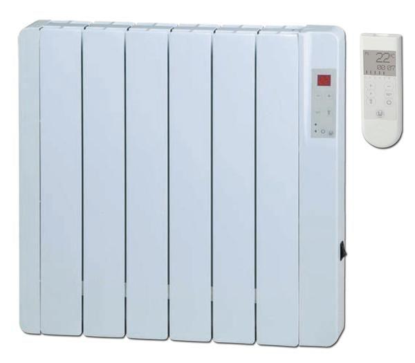 7 radiadores digitales electricos bajo consumo s p serie for Radiadores bajos