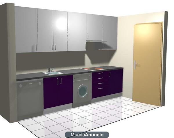 Venta de mobiliario de cocina 895 madrid 270077 mejor for Venta de cocinas