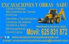 Excavaciones y obras sadu - mejor precio   unprecio.es