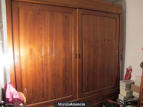 Armario antiguo de puertas correderas mejor precio - Precio puertas correderas armario ...