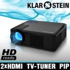 Proyector beamer projector lampara led sintonizador tv aux vga hdmi blue ray - mejor precio | unprecio.es