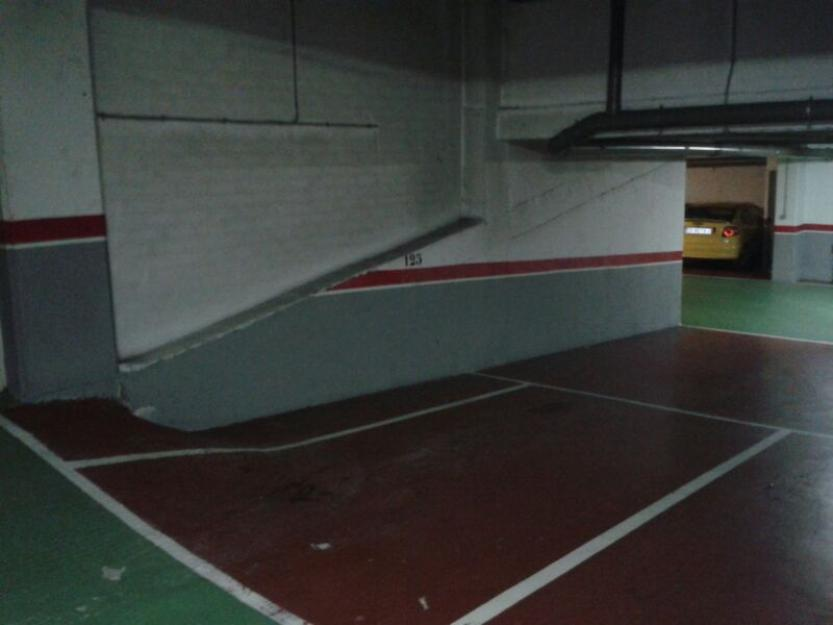 Oferta gran plaza de garaje