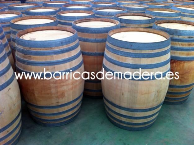 Barricas usadas 225 litros madera de roble mejor precio - Precio madera de roble ...