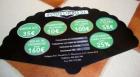 abanicos publicitrios de carton - mejor precio | unprecio.es