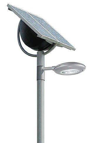 Farolas con placas solares de importaci n con calidad ce e for Placas solares precios