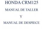 MANUAL DE TALLER Y DESPIECE EN ESPAÑOL CRM125 - mejor precio   unprecio.es