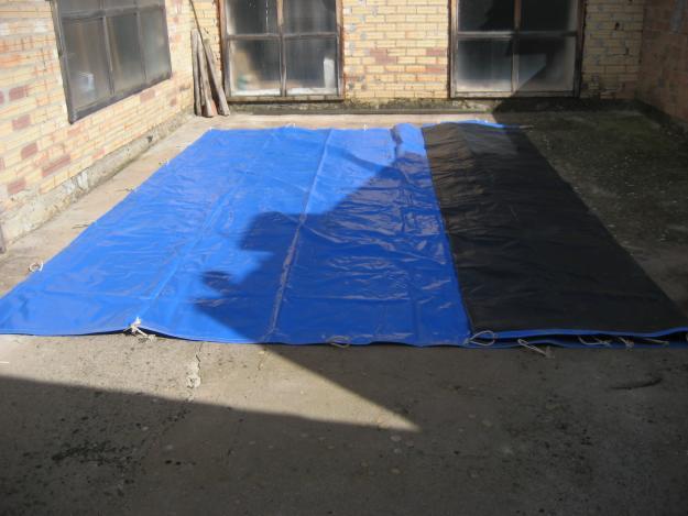 Vendo toldo para piscinas de 8 x 4 con dimensiones de 9 for Toldo piscina precio