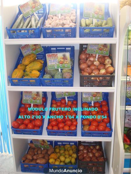 Estanteria para fruta y verdura mejor precio - Estanterias para fruta ...