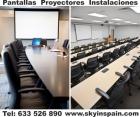 Proyectores, Instalaciones, Barcelona, Pantallas, Audio, Video Instalaciones - mejor precio | unprecio.es