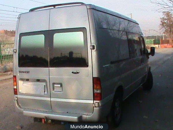 Vendo furgoneta ford transit 350 l 135 cv solo 9000euros for Vendo furgoneta camper