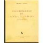 Diccionario de anglicismos. --- Ed. Gredos, 1970, Madrid. - mejor precio   unprecio.es