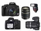 Canon 400D+18-55mm+18-200Tamron+Flash Sigma+Accesorios - mejor precio | unprecio.es