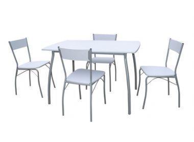 Conjunto mesa 4 sillas mod albarracin 541495 mejor for Mesa 4 sillas homecenter
