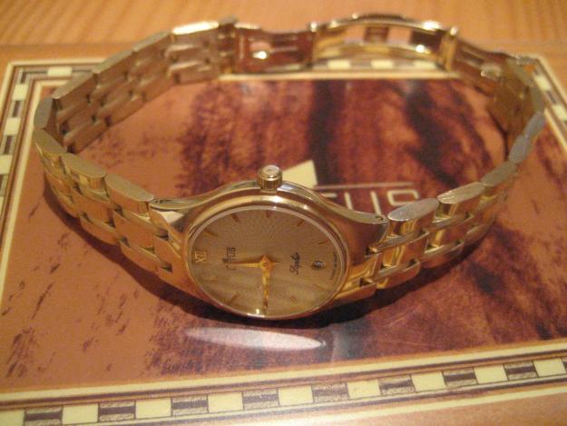 Reloj  LOTUS  mujer. Oro macizo 18 quilates. 64 gramos -automático- actual– Posterior 2004