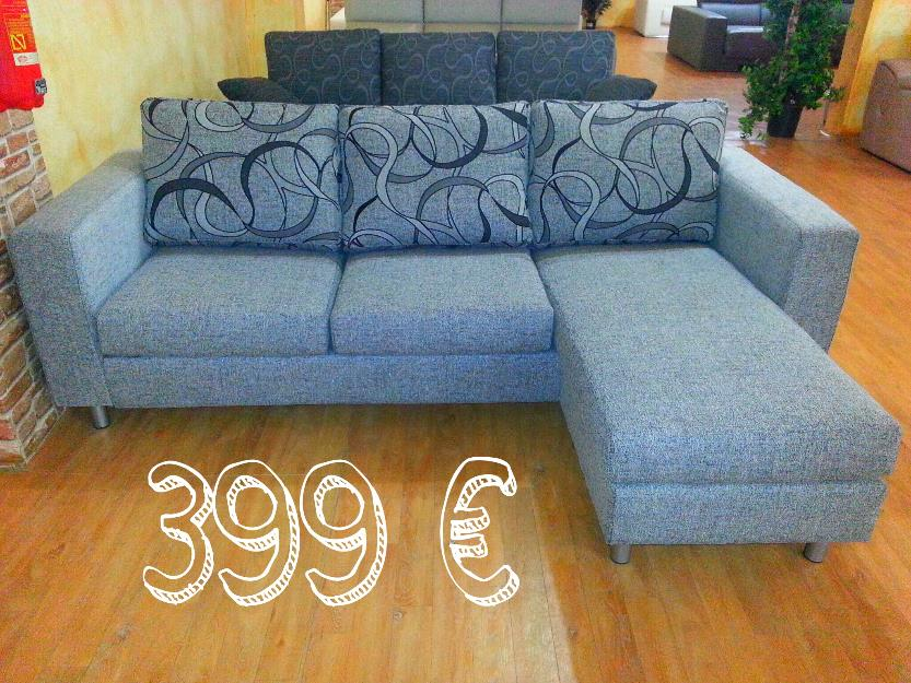 Sofa chaiselongue reversible a estrenar