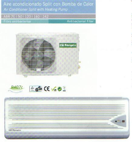 Aire acondicionado orbegozo bomba de calor con instalaci n for Aparatos de aire acondicionado con bomba de calor