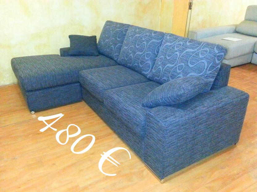 Sofa chaiselongue reversible a estrenar !!