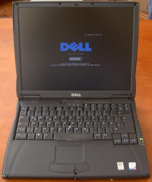 Portatil Intel Pentium III 800Mhz