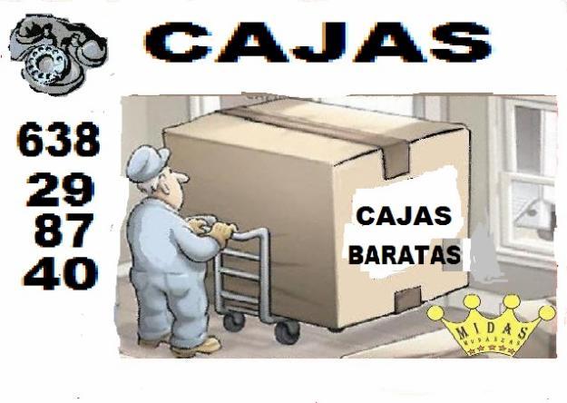 Cajas de empaque en madrid638 298 740cajas de carton for Cajas de carton madrid