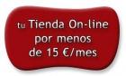 Tu Tienda On-Line por menos de 15 euros-mes - mejor precio | unprecio.es