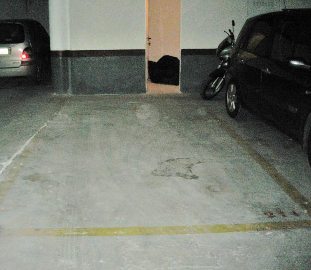alquilo plaza de garaje y trastero