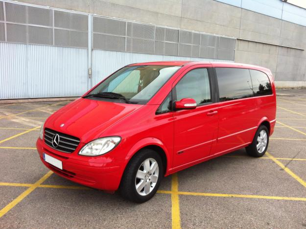 Vendo furgoneta mercedes viano 2 2 trend compact 784506 for Vendo furgoneta camper