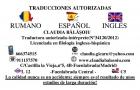 Traduceri autorizate-marqués de vadillo,aluche,zona sur(entrega a domicilio) - mejor precio | unprecio.es