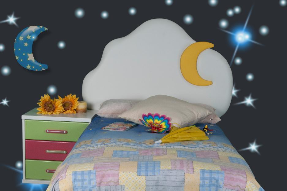 Cabeceros de cama tapizados infantiles mejor precio - Cabeceros infantiles tapizados ...