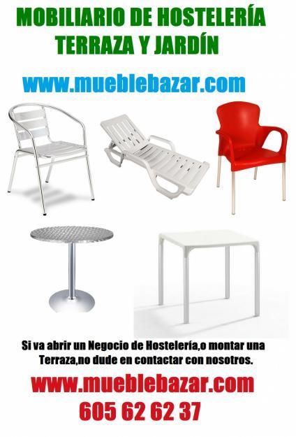 Mobiliario para hosteler a con precios de ahorro 156387 for Mobiliario de jardin segunda mano
