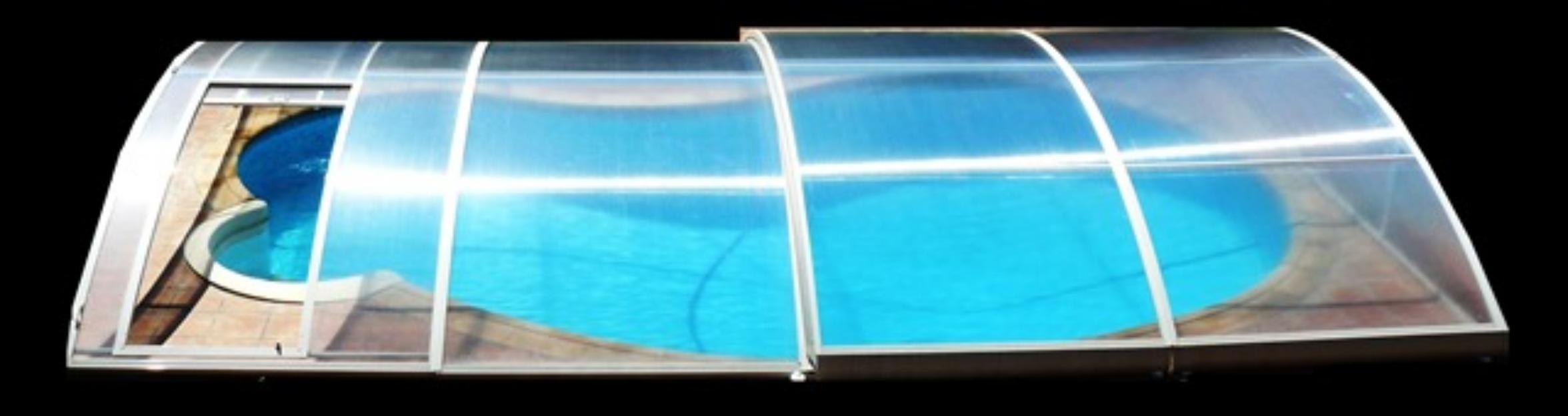 Cubierta piscina policarbonato 8x4 mts mejor precio for Precio piscina gunitada 8x4