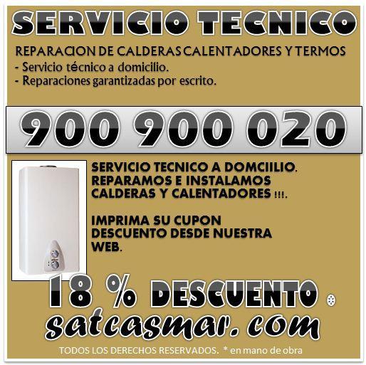 Servicio calderas roca 900 900 020 barcelona, satcasmar.com