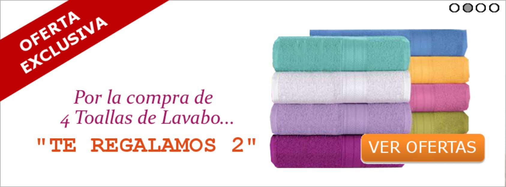 Ofertas en toallas de lavabo 162008 mejor precio for Compra de lavabos