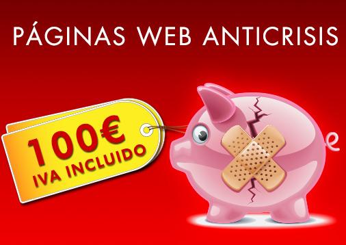 Diseño Páginas Web Económicas. Diseño profesional a buen precio.