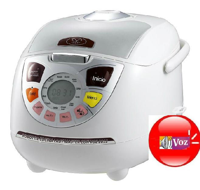 robot de cocina lady master con voz 168371 mejor precio