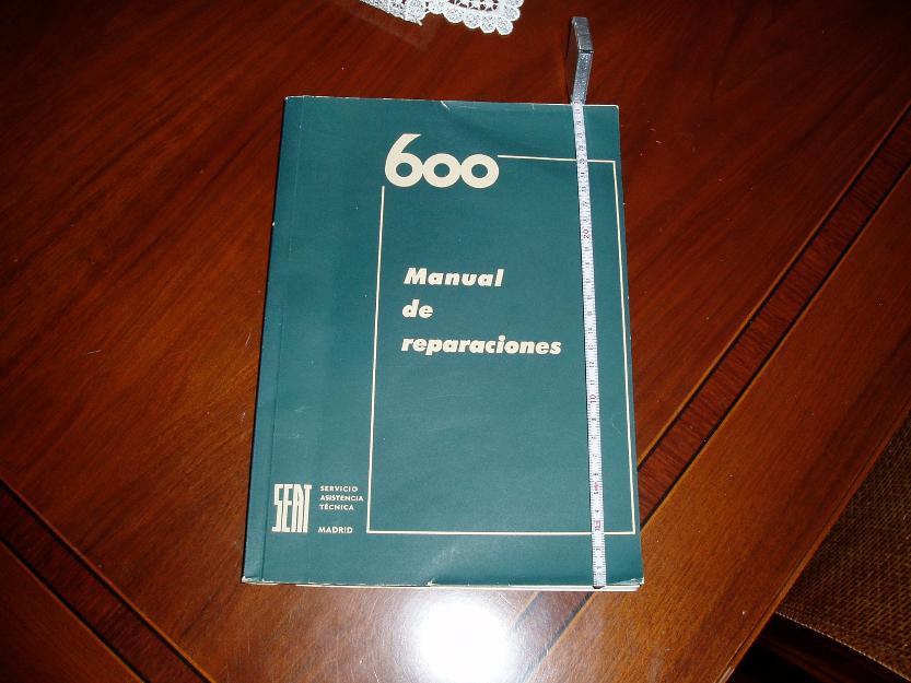 Seat 600 Manual de Reparaciones