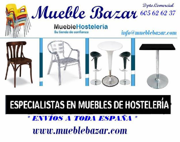 Mobiliario de hostelería en toda españa con mueble bazar