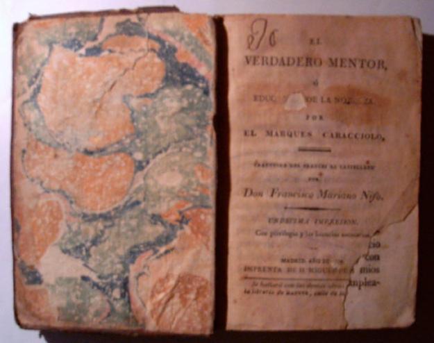 El verdadero mentor. El Marqués de Caracciolo. 1817