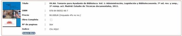TEMARIO DE AYUDANTE DE BIBILIOTECA