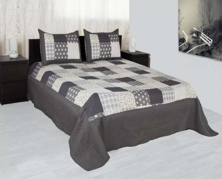 Colchas bouti para camas 135 y 150 142552 mejor precio for Medidas colcha cama 135