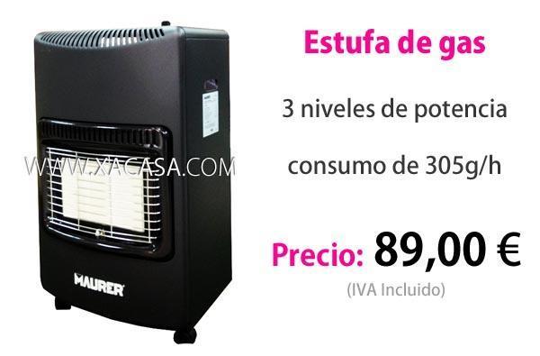 Estufa de gas infrarroja mejor precio - Precio de queroseno para estufas ...