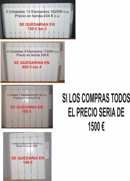 Emisores termicos bajo consumo mejor precio - Consumo emisores termicos ...
