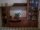 Armario y mesa extendible extendible de cerezo - mejor precio | unprecio.es