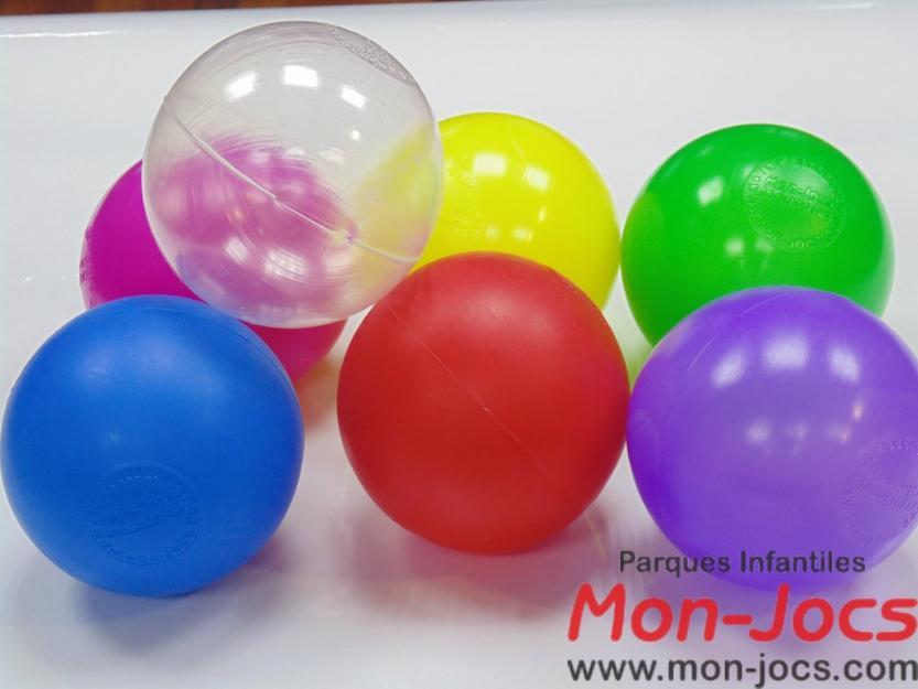 Bolas para piscina mejor precio for Bolas piscinas infantiles