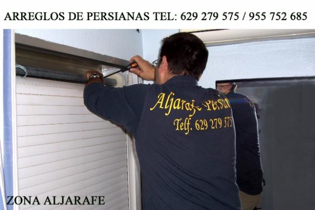 Reparacion de persianas en todo el Aljarafe