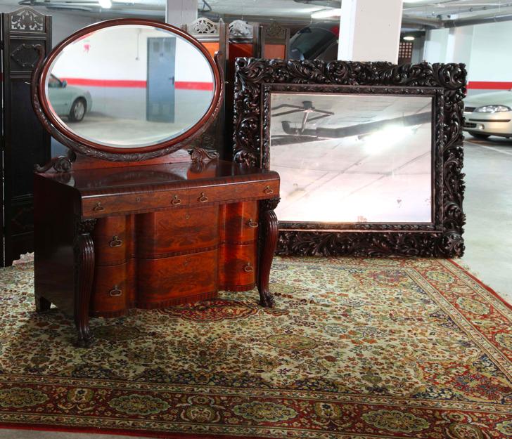 Venta de puertas espejo y muebles antiguos mejor precio - Compra y venta de muebles antiguos ...