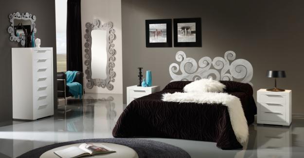 Dormitorios Matrimonio Rustico Moderno : Dormitorio juvenil matrimonio en madera estilo rustico