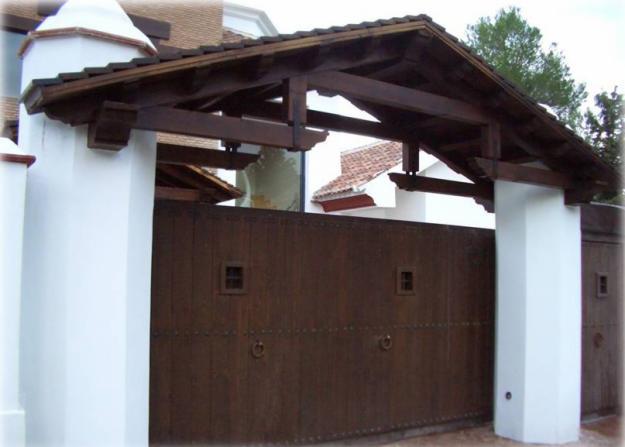 Portones y puertas rusticas mejor precio - Entradas de casas rusticas ...