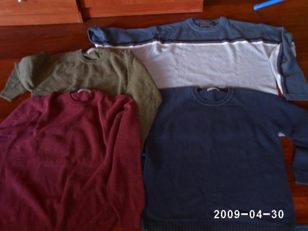 4 jerseis de la talla L