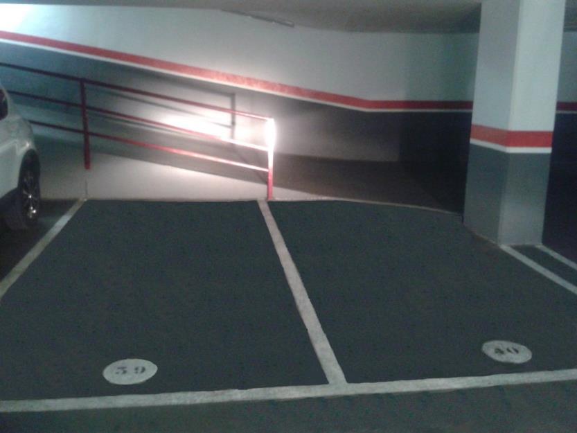 Vendo o alquilo parking en poblenou (barcelona)